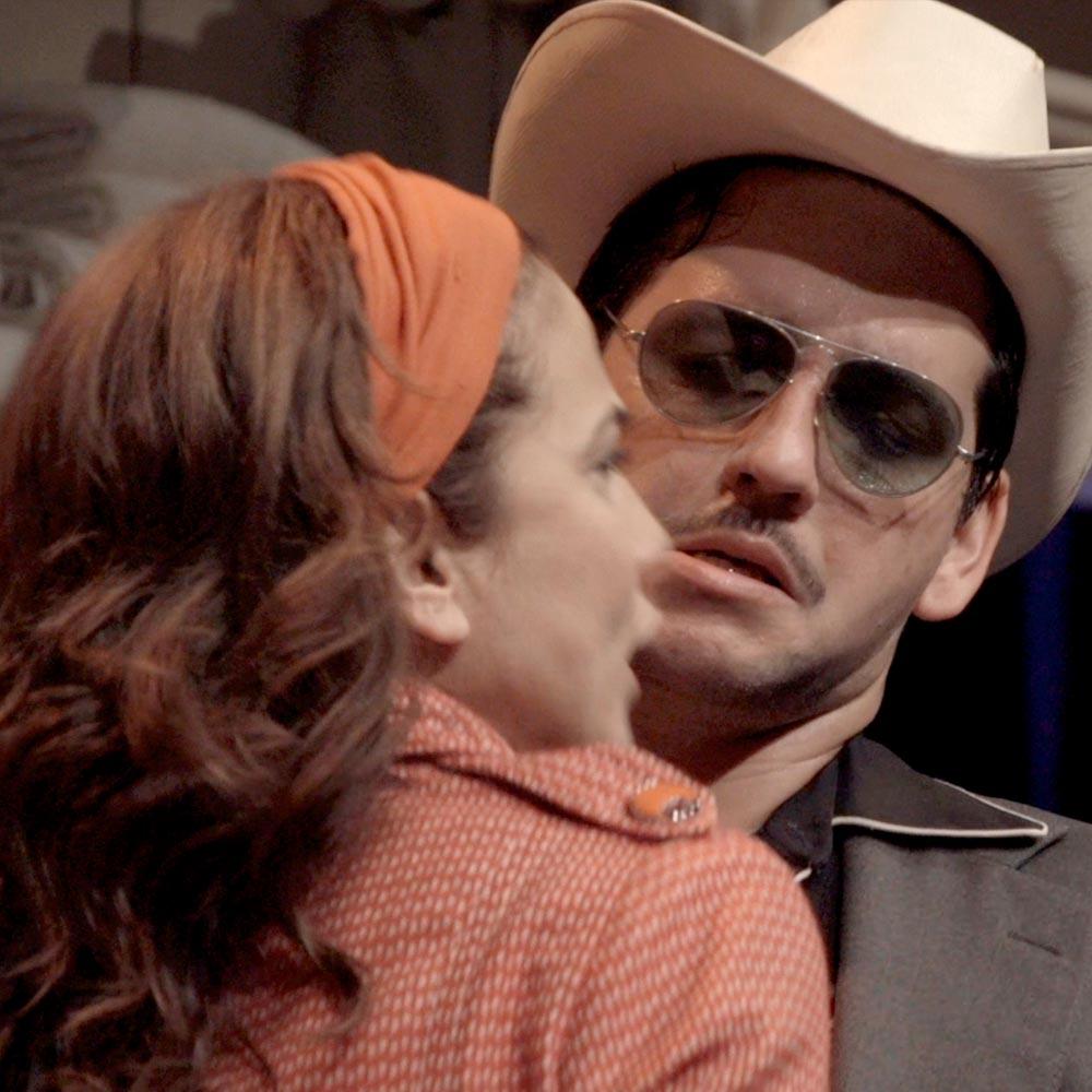 Toni Acosta y Fran Perea llegan a Valladolid con 'La Estupidez' para desenmascarar la codicia
