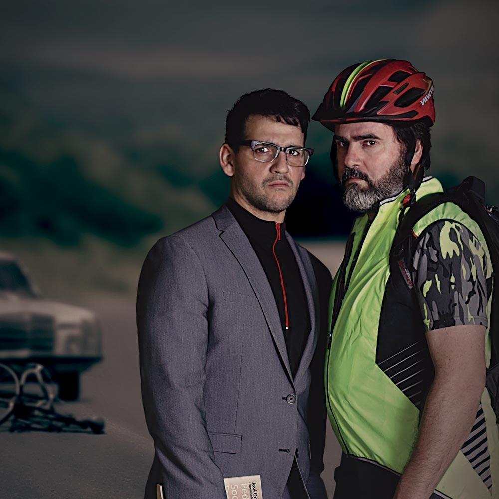 Estreno absoluto de 'El ciclista utópico' de Alberto de Casso en Valladolid con Fran Perea y Fernando Soto