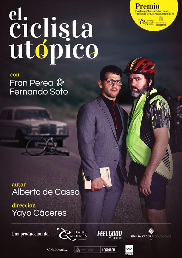 Cartel El ciclista utópico